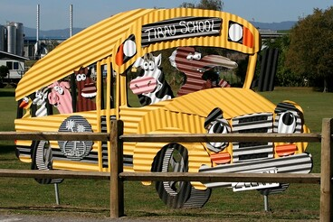 Image: Tirau School bus