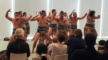 Image: Te Pao a Tahu kapa haka group in performance