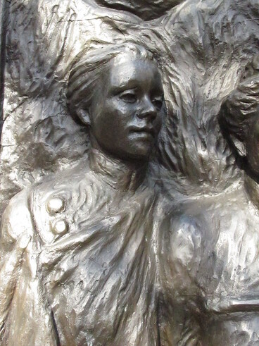 Image: Meri Te Tai Mangakahia - Kate Sheppard National Memorial