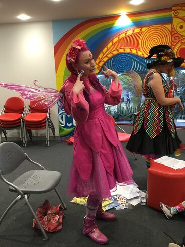 Image: Musical Faerie Storytime, New Brighton Library