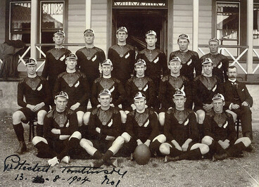 Image: 1904 All Blacks team to face British Lions