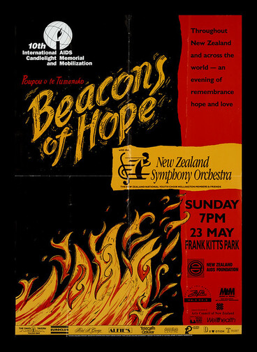 Image: Beacons of Hope poster & World AIDS Day