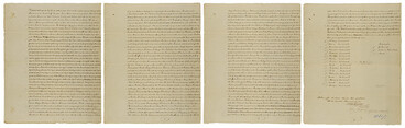 Image: Purchase of Port Nicholson (attested copy), 27 September 1839