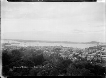 Image: Waitemata Harbour from Auckland Domain