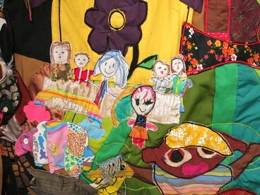 Image: Aroha Revolution: A community Matariki quilt