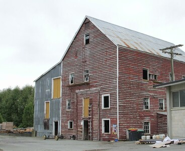Image: Old abandoned flour mill, Winchester, Canterbury, NZ