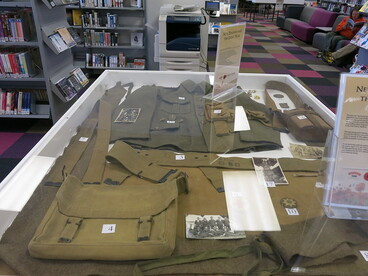 Image: First World War exhibition at Central Library Peterborough