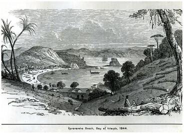 Image: Kororāreka (Russell), 1844