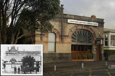 Image: Auckland: old Ponsonby Fire Station, then/now