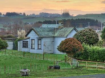 Image: Old house, Pokeno, Waikato, New Zealand