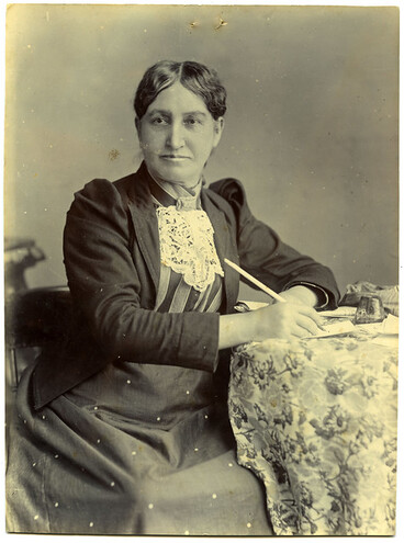 Image: Elizabeth Yates, Mayor of Onehunga, 1894