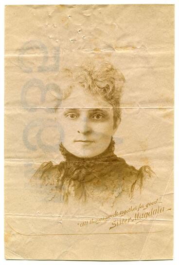 Image: Mrs. M. Worthington a.k.a. Sister Magdala