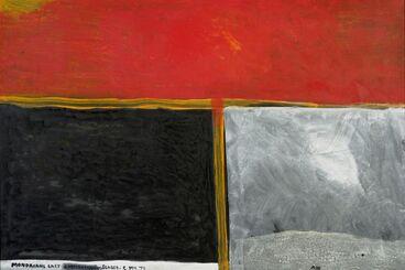 Image: Mondrian's last chrysanthemum