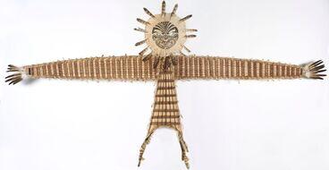 Image: Manu-aute (kite), titled 'Kimihia Te Manu Kahu'
