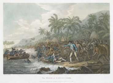 Image: The death of Captain Cook