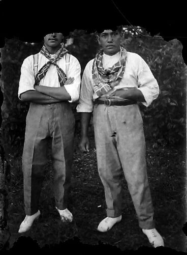 Image: Two young men