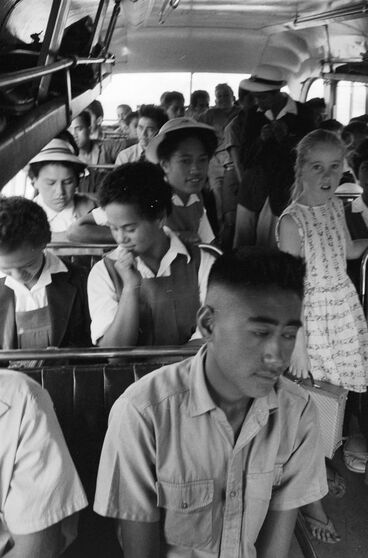 Image: [Children on school bus]