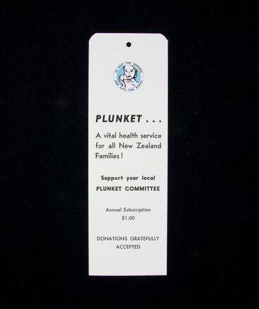 Image: Bookmark, Royal New Zealand Plunket Society