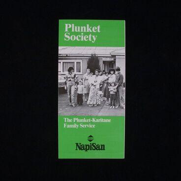 Image: Leaflet, 'The Plunket-Karitane Family Service'