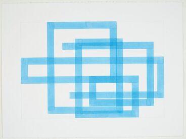 Image: Azure blue line 5