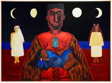 Image: Ko hine te iwaiwa, ko hine korako, ko rona whakamau tai
