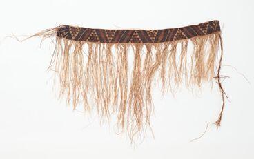 Image: Tāniko weaving