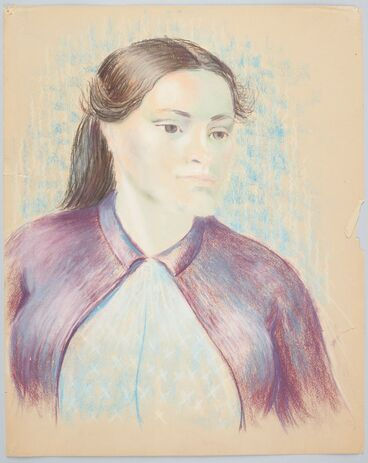 Image: Portrait of a young woman