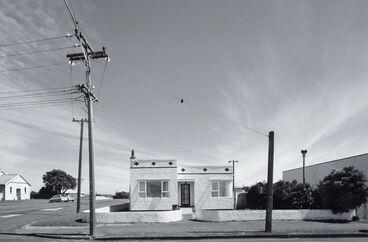 Image: Stucco house, Egmont Street, Patea