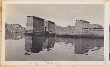 Image: Philae, Assuan. From the album: Photograph album of Major J.M. Rose, 1st NZEF