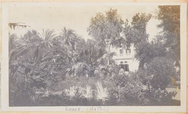 Image: Luxor (hotel). From the album: Photograph album of Major J.M. Rose, 1st NZEF