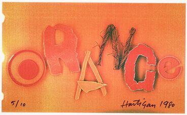 Image: Colourwords. Orange.