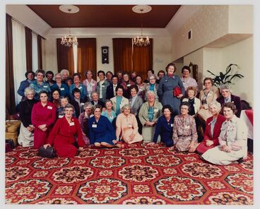 Image: Women's Land Service reunion
