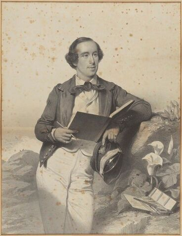 Image: Portrait of George French Angas