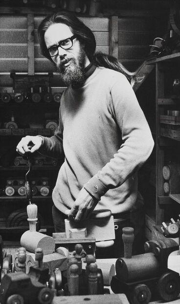 Image: John Brunette - toy maker
