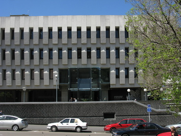 Image: Exterior photographs of National Library building
