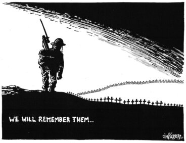 Image: We will remember them... 24 April 2009