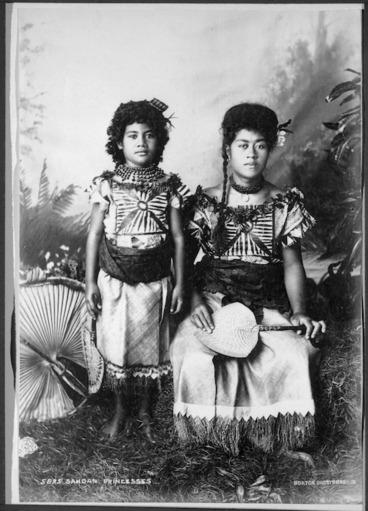 Image: Samoan princesses