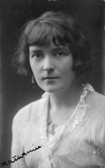 Image: Pickthall, Charlotte Mary, 1887-1966 : Katherine Mansfield