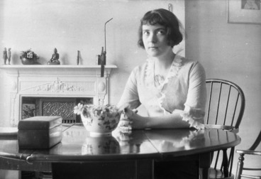 Image: Katherine Mansfield, Chaucer Mansions flat, Queen's Club Gardens, West Kensington, London, England