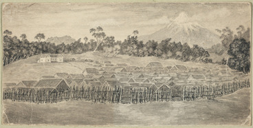 Image: Artist unknown :Parihaka [1881 or later?]