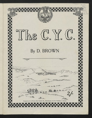 Image: The C.Y.C. [Canterbury Yeomanry Cavalry] / by D. Brown.