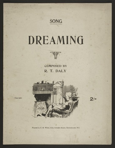 Image: Dreaming : song / composed by R.T. Daly.