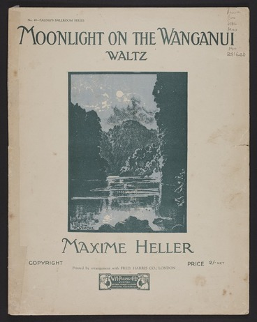 Image: Moonlight on the Wanganui : Zealandia : Waltz / Maxime Heller.