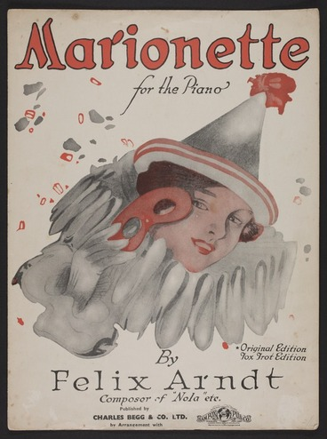 Image: Marionette : for the piano / by Felix Arndt.