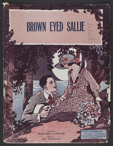 Image: Brown eyed Sallie / words by Margaret A. Sinclair ; music by Leo Friedman.