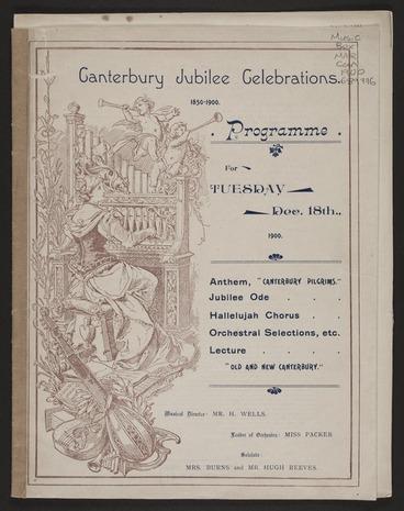 Image: Canterbury pilgrims / G.W. Martin.