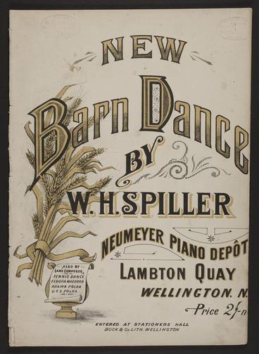 Image: New barn dance / by W.H. Spiller.