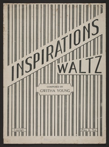 Image: Inspirations waltz / composed by Gwitha Young.