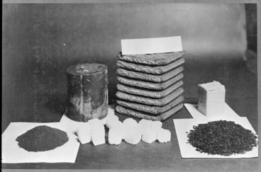 Image: One mans daily sledging food ration, Antarctica