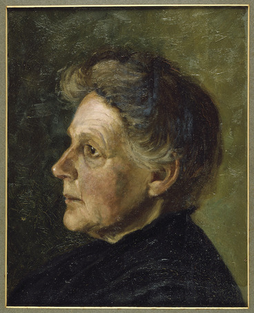 Image: Portrait of Elizabeth Parsons painted by J H W Parsons
